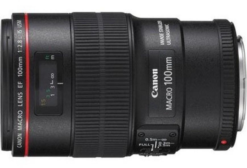 Canon EF 100mm f:2.8 L IS USM Macro Lens