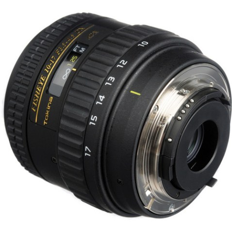 Tokina 10-17mm f:3.5 - 4.5 AT-X 107 AF DX NH Fisheye Lens Mount