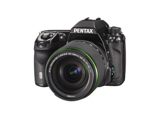 Pentax K5II  Black with DA18-135 WR