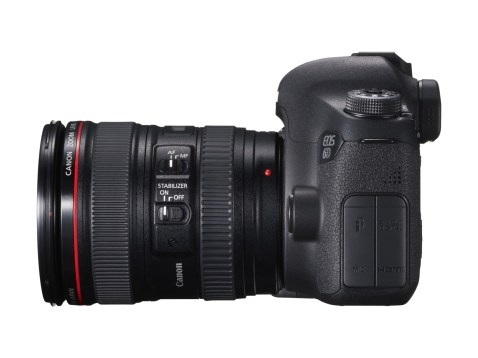 Canon EOS 6D left