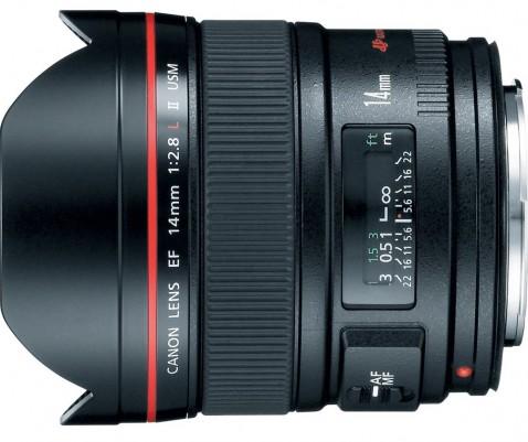 Canon EF 14mm f:2.8 L II USM