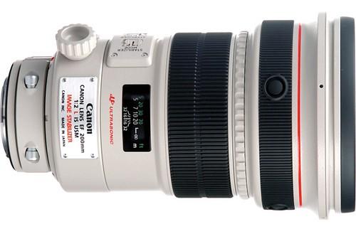 Canon EF 200mm f:2.0 L IS USM Lens
