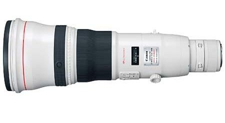 Canon EF 800mm f:5.6 L IS USM Lens