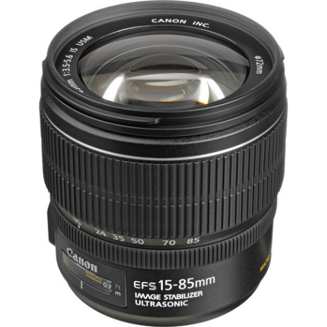 Canon EF-S 15-85mm f:3.5-5.6 IS USM Lens-a