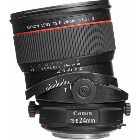 Canon TS-E 24mm f:3.5 L II Lens-f