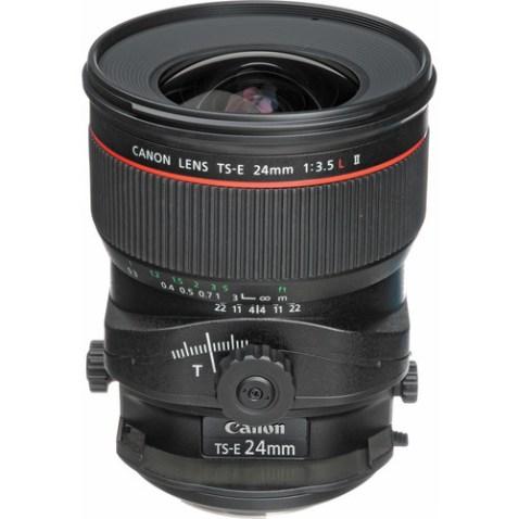 Canon TS-E 24mm f:3.5 L II Lens-g