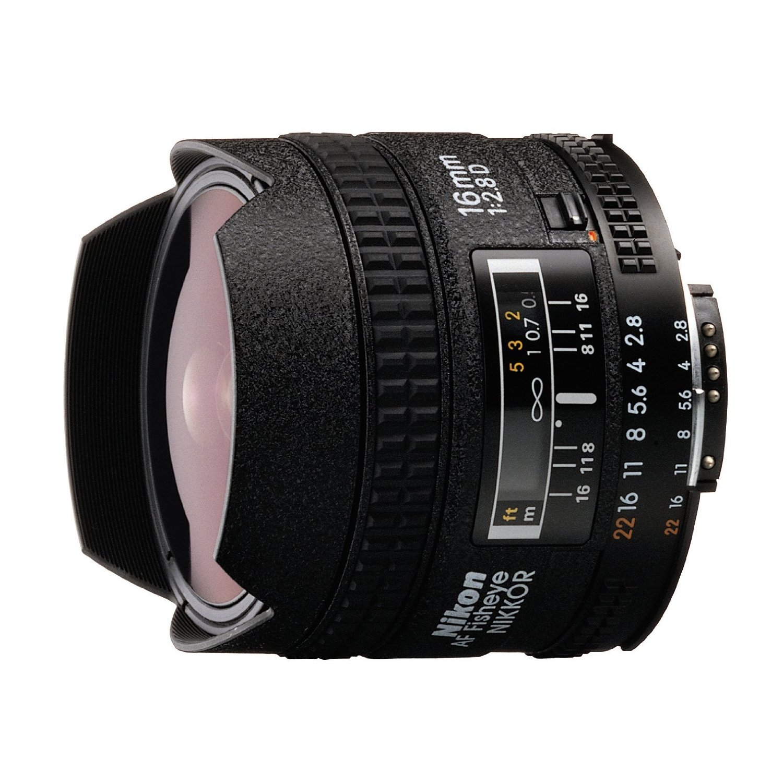 Nikon Af Fisheye Nikkor 16mm F 2 8d Lens Digital