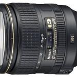 Nikon AF-S NIKKOR 24-120mm f:4G ED VR Lens