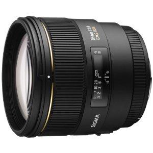 Sigma 85mm f:1.4 EX DG HSM