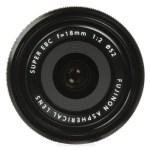 Fujifilm 18mm f:2.0 XF R Lens- front