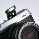 Fujifilm X-E1 built-in flash