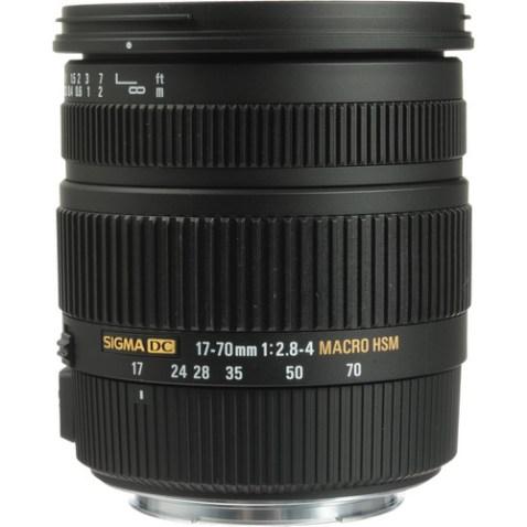Sigma 17-70mm f:2.8-4 DC OS Lens