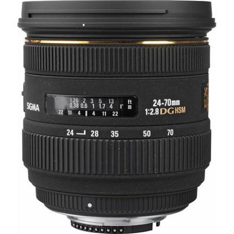 Sigma 24-70mm f:2.8 EX DG Lens