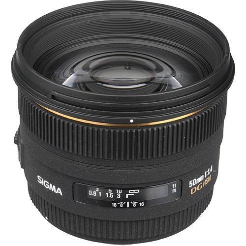 Sigma 50mm f:1.4 EX DG HSM