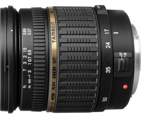 Tamron SP 17-50mm f/2.8 XR Di II Lens