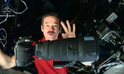 Astronaut Chris Hadfield- space photography