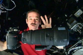 Astronaut Chris Hadfield- space photography