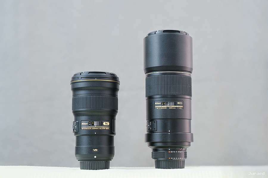 Nikkor 300mm f4E PF VR vs 300mm f4D -1
