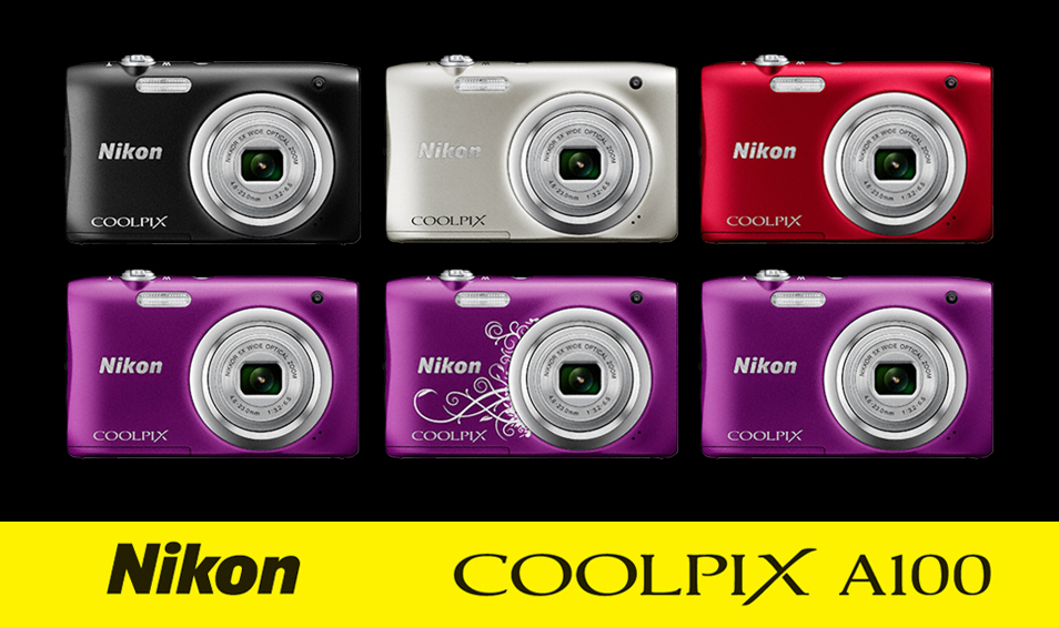 Nikon COOLPIX A100 Color