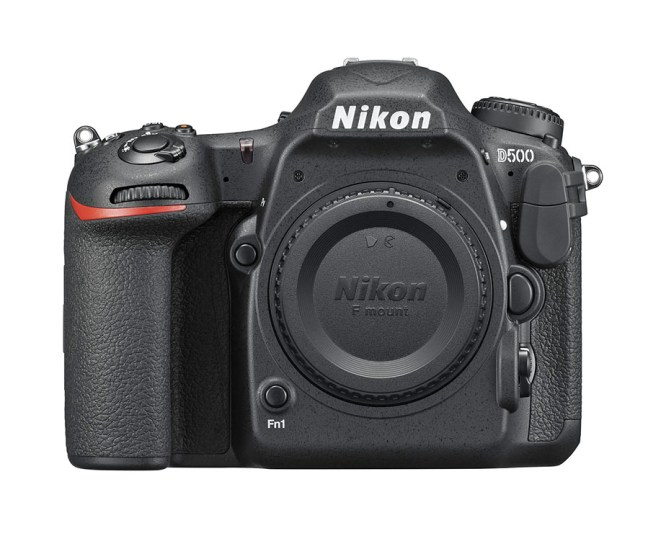 Nikon D500 front
