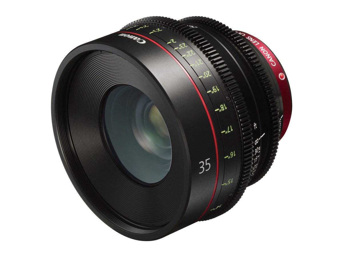 Canon CN-E35mm T1.5 L F Cinema Lens