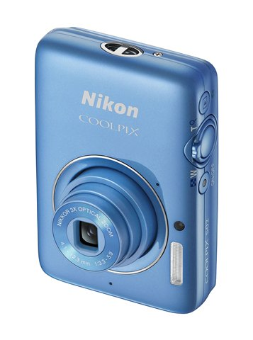 Nikon Coolpix S02- Bluejpg