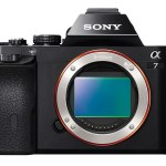 Sony A7 and A7R - Front