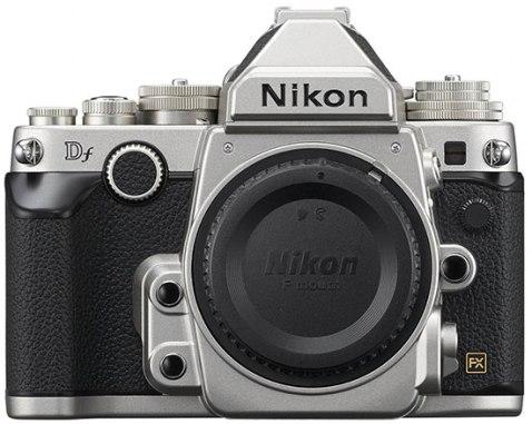 Nikon-Df-kit-silver-Front