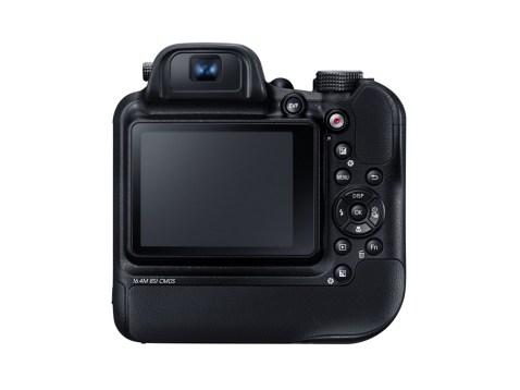Samsung WB2200F (Back)