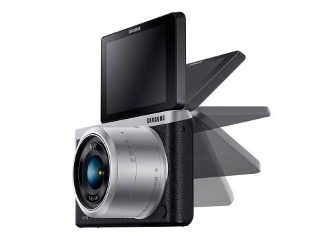 Samsung NX mini - lcd