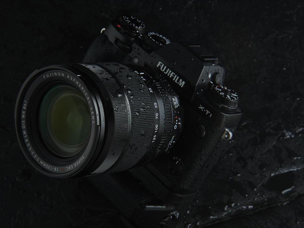 Fujifilm XF18-135mm F3.5-5.6 R LM OIS WR with X-T1