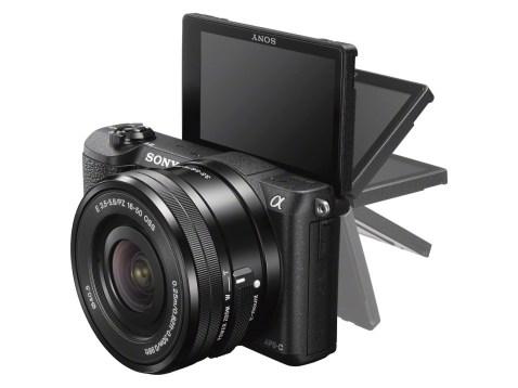 Sony Alpha a5100 - LCD