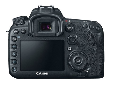 CanonEOS 7D Mark II - Back