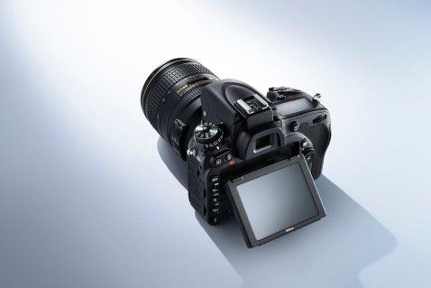 Nikon D750 - top view