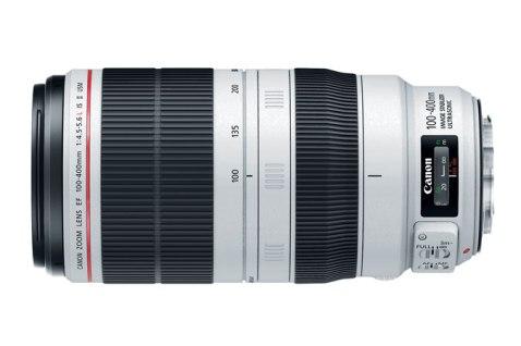 Canon EF 100-400 f:4.5-5.6L IS II - Side