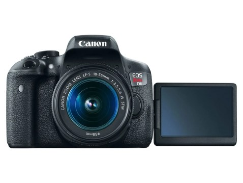 Canon EOS Rebel T6i (EOS 750D) - LCD