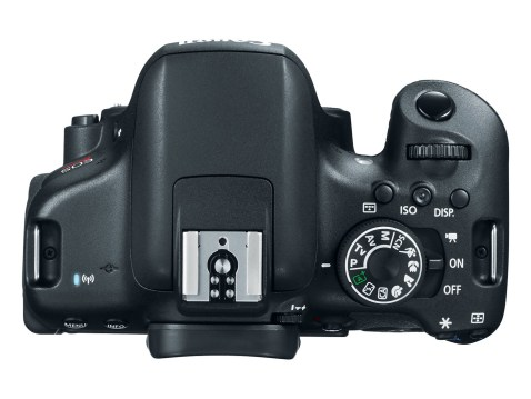 Canon EOS Rebel T6i (EOS 750D) - Top