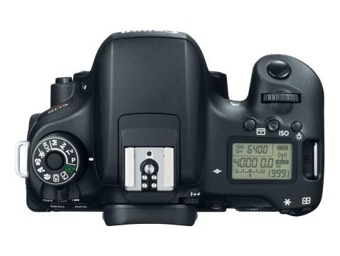 Canon EOS Rebel T6s (EOS 760D)- top