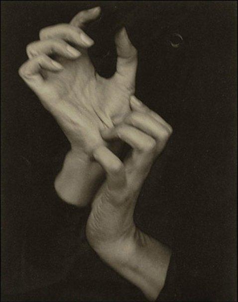 Georgia O'Keeffe (Hands) (1919) by Alfred Stieglitz