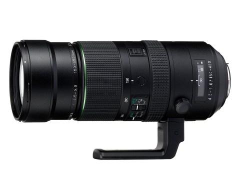 Pentax D FA 150-450mm F4.5-5.6