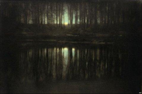 The Pond-Moonlight (1904) by Edward Steichen