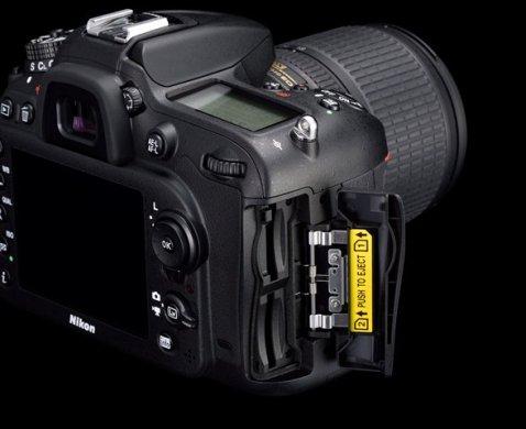 Nikon D7200 Double Slot