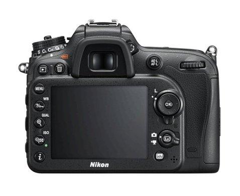 Nikon D7200 back