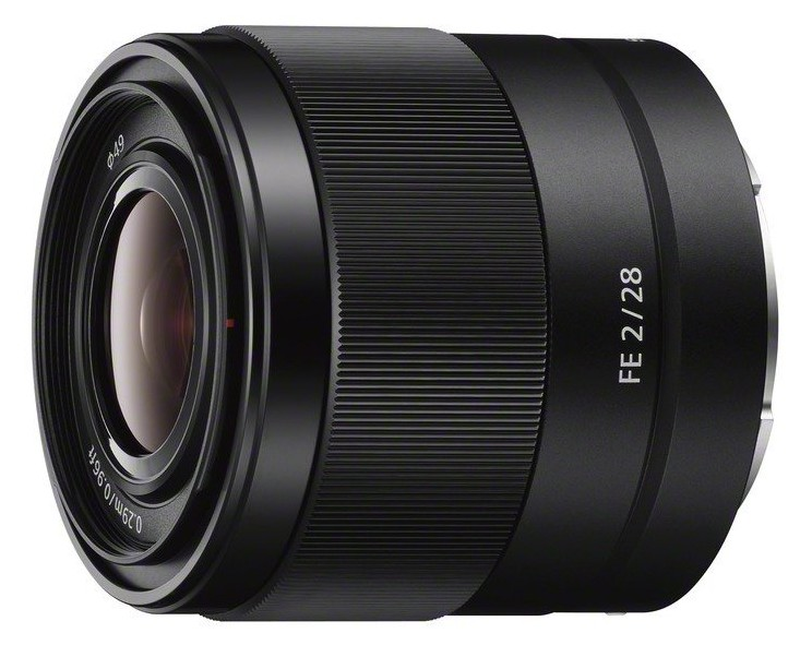 Sony 28mm F:2 E-mount NEX Camera Lens