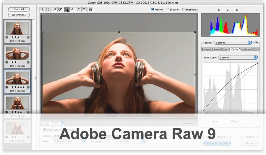 Adobe camera raw 9