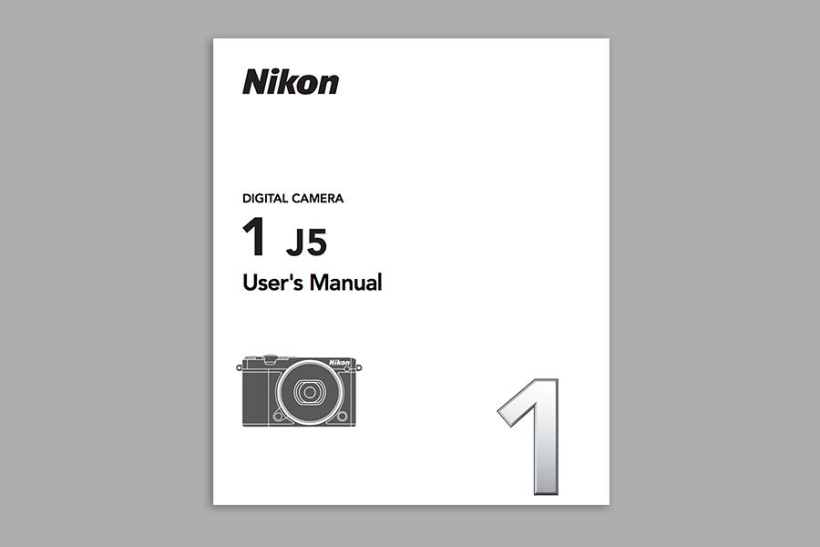 Nikon 1 J5  Instruction or User's Manual PDF