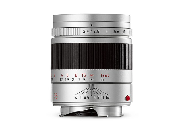 Leica Summarit-M 75mm f2.4 Lens 04