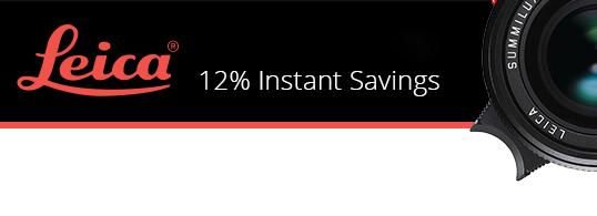 Leica instant rebates - savings