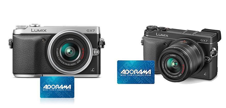 Panasonic Lumix DMC-GX7 Mirrorless Digital Camera Kit with Lumix G Vario 14-42mm:F3.5-5.6 Lens