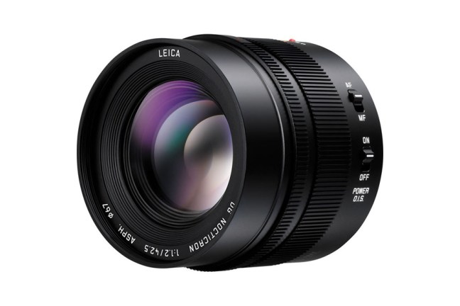Panasonic Leica DG Nocticron 42.5mm f:1.2 Lens 03